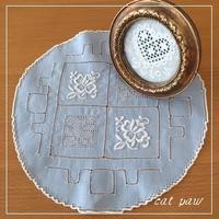 ドロンワークのドイリー - ~K~ embroidery studio