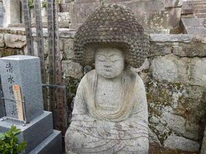 会津藩士も見た?ファンキーな石仏 - K2 HAIR へようこそ               近江八幡市 美容室 美容院