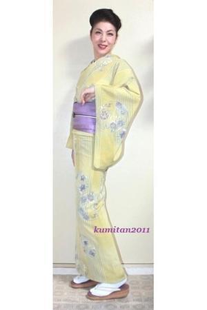 今日の着物コーディネート♪(2017.8.17)~絽縮緬夏着物&紗博多帯編~ - 着物、ときどきチロ美&チャ美。。。お誂えもリサイクルも♪