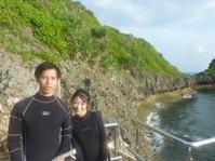いつもより混雑していましたが・・・ ~早朝青の洞窟シュノーケリング~ - 沖縄本島最南端・糸満の水中世界をご案内!「海の遊び処 なかゆくい」