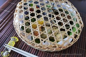 夏の籠弁当 -