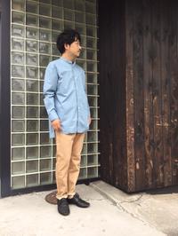 レイヤードにもピッタリなオーバーサイズシャツ。 - AUD-BLOG:メンズファッションブランド【Audience】を展開するアパレルメーカーのブログ