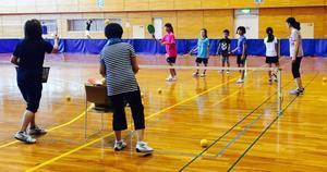 29年8月17日(木)親子テニポン教室 -
