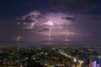 西濃〜中濃雷雨 - 千種観測所
