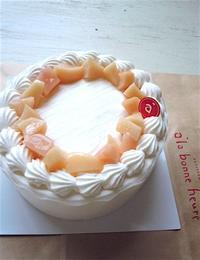 偶然、麻央ちゃんのバースデーケーキを真似して・・・。 - こんなことが、あったよ。