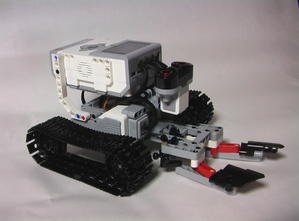 マインドストーム 小学一年生でも作れちゃうのね - 電子工作やってみたよ