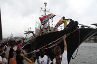 今年も沖合底びきの船団が出港しました - 下関あんこうプロジェクト・ブログ