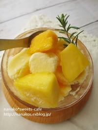 マンゴーシャーベット作り方 - nanako*sweets-cafe♪