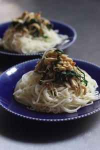 野菜のせ冷麦 - Life w/ Pure & Style