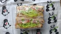 8/18(金)ミックスサンドイッチ弁当 - ぬま食堂