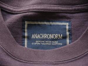 ANACHRONORM 新作到着です!!! -