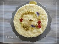 ダブルチーズケーキ - cuisine18 晴れのち晴れ