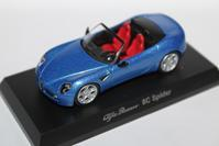 1/64 Kyosho Alfa Romeo 4 Online Ver. 8C Spider - 1/87 SCHUCO & 1/64 KYOSHO ミニカーコレクション byまさーる