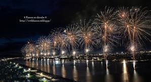 福山夏まつり2017 あしだ川花火大会 ② - *花音の調べ*