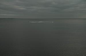 雨の日の海 -