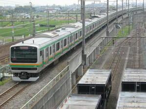 鉄道写真「JR高崎線」(2007年) - STERNNESS DUST α