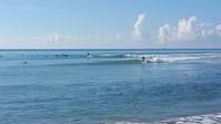 台湾佳楽水 今日の波 もも〜腰サイズ 晴れオフショア - 台湾サーフィン 佳楽水は今日もいい波    佳楽水好浪!