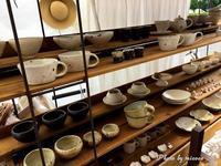 五条坂陶器まつりと有次 - 森の中でパンを楽しむ