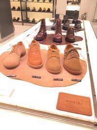 NORIEI磨きイベント! - ルクアイーレ イセタンメンズスタイル シューケア&リペア工房<紳士靴・婦人靴のケア&修理>