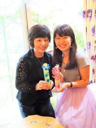 💖母娘の初体験:ハーバリウムレッスン - 軽井沢プリフラdiary