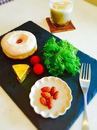ドーナツで朝食☆ - Mi-Rinのおいしいもの日記