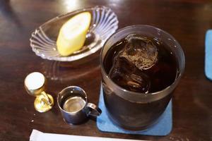 日本橋の喫茶店から信濃そばでカレー丼 -