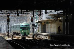 特急ゆふいんの森@JR博多駅 -