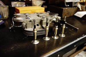 1951 TRIUMPH T100 シリンダーヘッド -