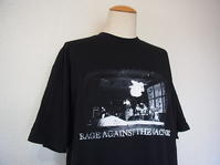 Vintage 90s Rage Against The Machine ヴィンテージ レイジ ラップ 古着 バンドTシャツ - Used&Select 古着屋 コーナーストーン CORNERSTONE