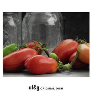 イタリアントマトの深い色/art farm & gardenの庭 - アート農場と庭