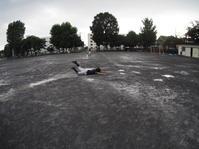 夕立で終了 - 学童野球と畑とたまに自転車