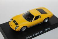 1/64 GRANI&PARTNERS Lamborghini Miura P400SV 1972 - 1/87 SCHUCO & 1/64 KYOSHO ミニカーコレクション byまさーる