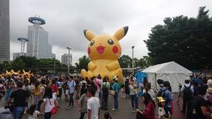 170815 横浜 Pokemon GO PARK - 100日記