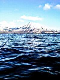 2009.1.2 支笏湖の生命感 - river side