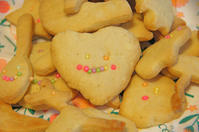 型抜きクッキーと、小学生のためのきれいな字になるワーク - DOUBLE RAINBOW