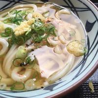 かけうどん並@丸亀製麺 - 香港と黒猫とイズタマアル2