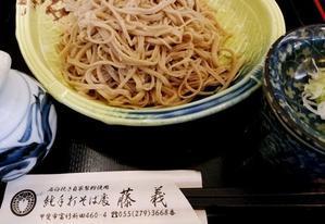 新潟から東京へその四(山梨にて) - 月下逍遥