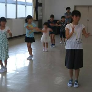 練習風景(8月19日) - 加須少年少女合唱団♪ときどき猫