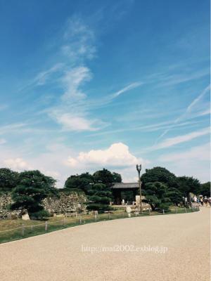 姫路城散策 - パリジェンヌのように