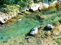 川は天然のクーラー - 白壁荘だより  天城百話