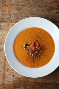 ニンジントマトスープ - Nasukon Pantry