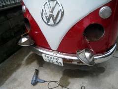 VWタイプⅡの車検当日! -