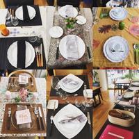 【エクレアキッチンテーブルコーディネートLesson第4回 我が家らしいテーブル】 - Plaisir de Recevoir フランス流 しまつで温かい暮らし
