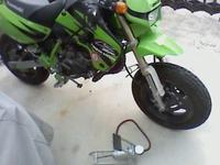 KSR出動準備 - マーチとバイク