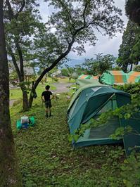 9年ぶりのキャンプ。 - グルグルつばめ食堂