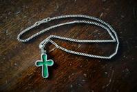 チェーン付十字架35,36 - スペイン・バルセロナ・アンティーク gyu's shop