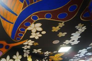 祇園くろちくビルの壁画 -