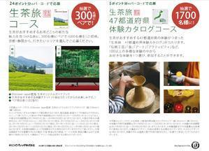 「自分だけの生茶旅プレゼント」キャンペーン@KIRIN - スカパラ@神戸 美味しい関西 メチャエエで!!