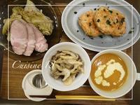 鮭と牛蒡のつくね - cuisine18 晴れのち晴れ