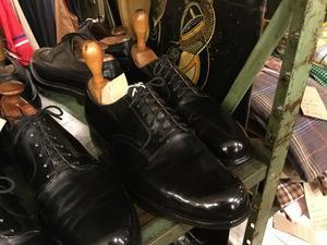 US Military Oxford Shoes - REAL MONKEY 仙台 ~ Vintage & Antiques ~古着屋